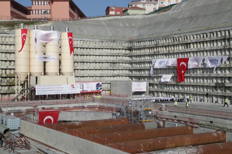 T13 TBM Giriş Töreni