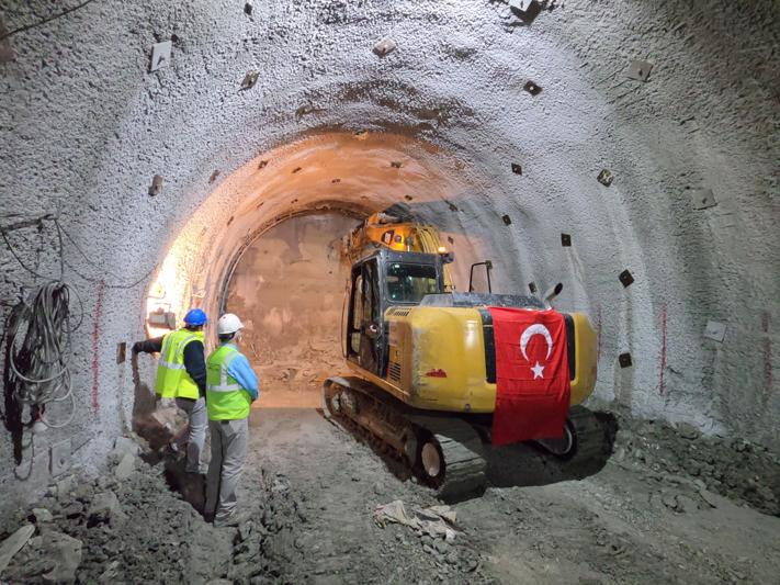 C09 NATM Tünelleri Birleşmesi